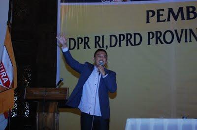 Sharing Session kepada Caleg DPR RI, DPRD 1 dan DPRD 2 Semarang