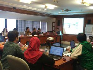 Sharing di Indosat Ooredoo kantor Pusat day 1